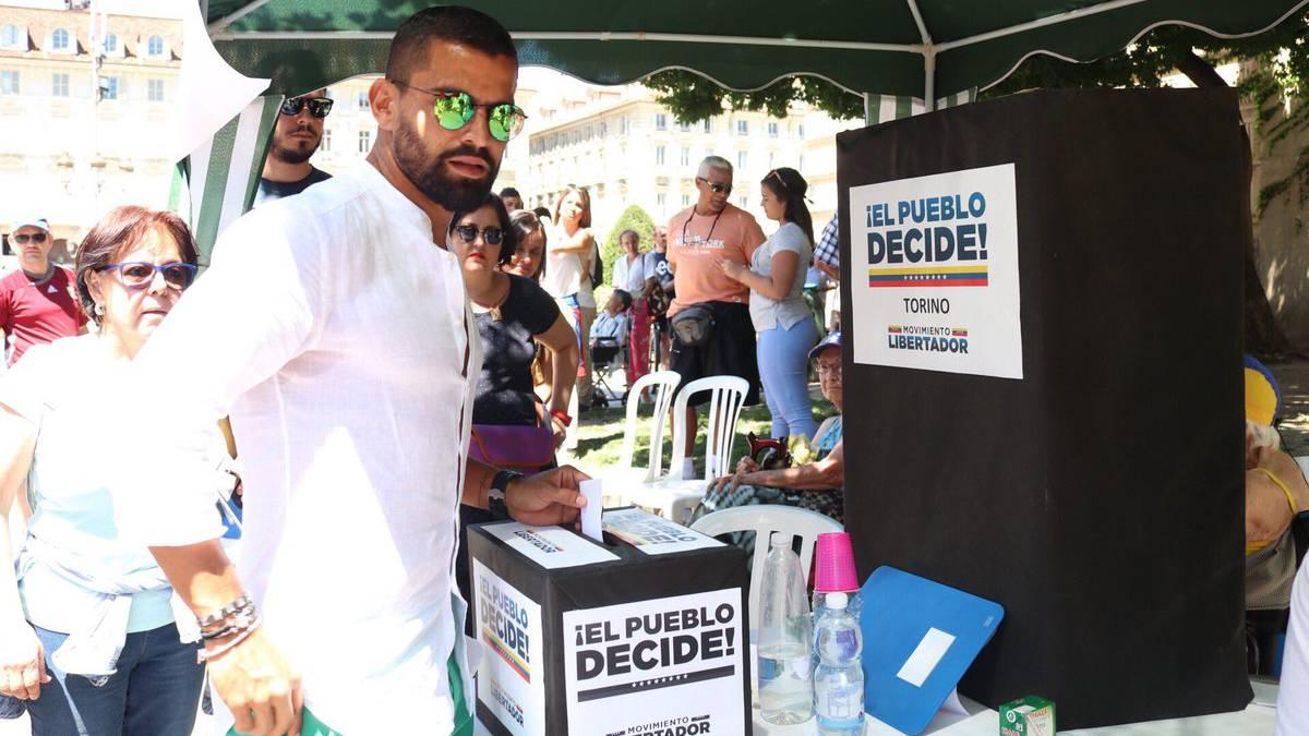 Los venezolanos en el exterior se movilizaron para votar for Venezolanos en el exterior