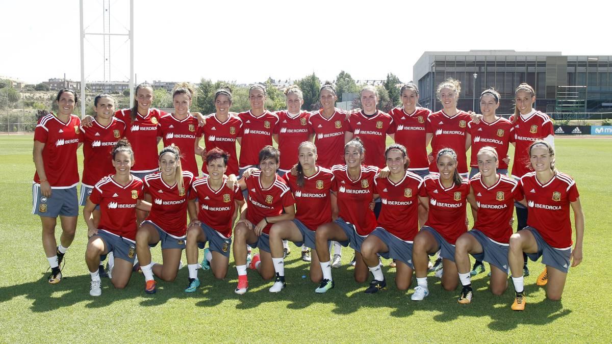 Las 23 jugadoras de la Selección Absoluta Femenina