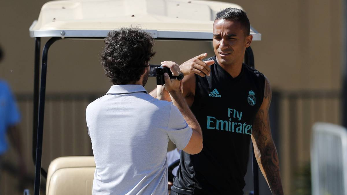 Danilo, Real Madrid preseason in Los Angeles.