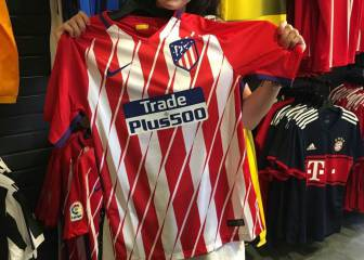 Atlético Madrid new kit already being sold in the USA