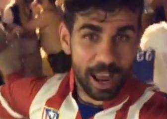 Diego Costa already dressed for Atlético Madrid