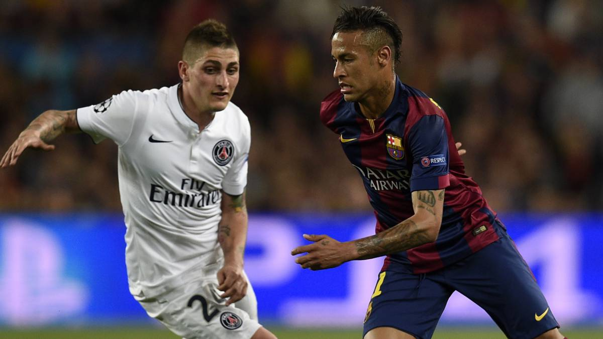Neymar in contact with PSG