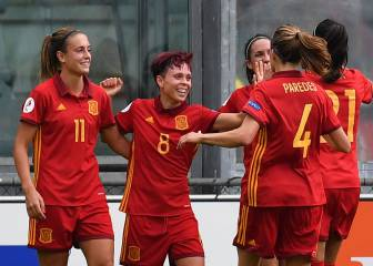 Vicky Losada and Amanda secure victory for Spain