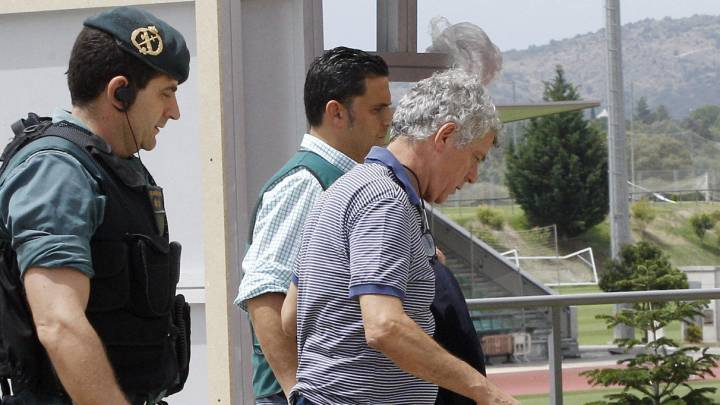 Villar, detenido por la Guardia Civil.