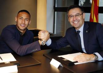 Neymar and Bartomeu hold meeting in New Jersey