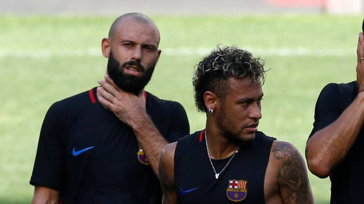 "Mascherano: ""Neymar is the future of Barça"""