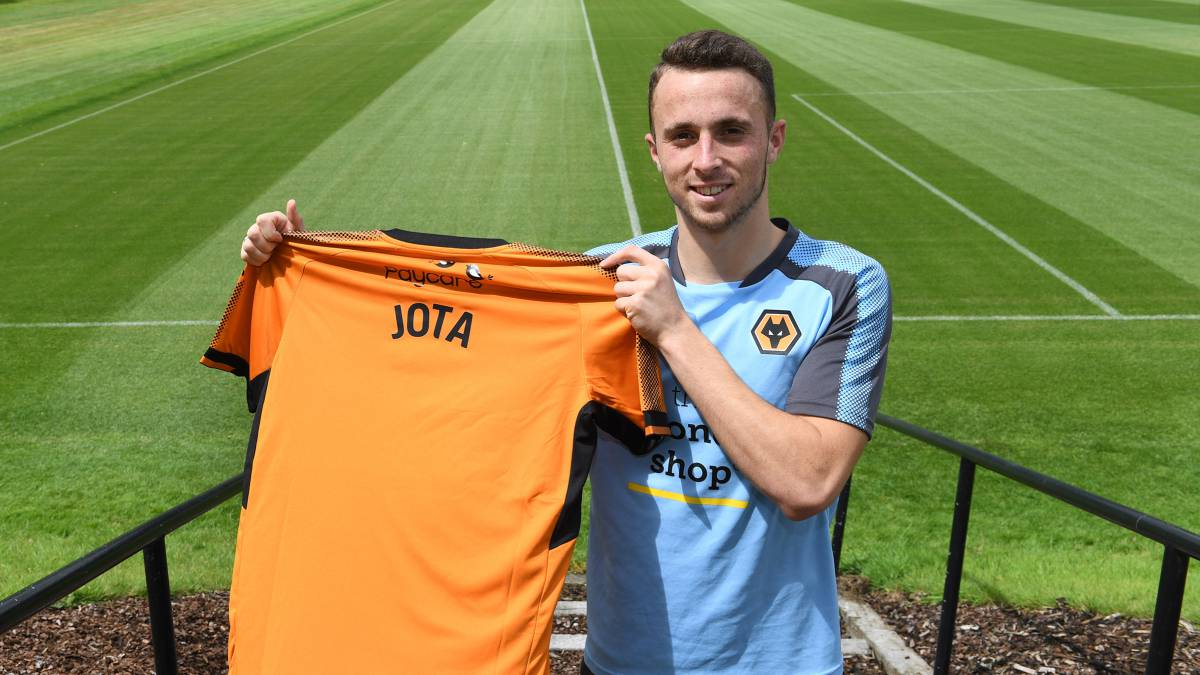 Wolves snap up Atlético Madrid promise Diogo Jota on loan