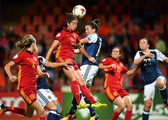 Scotland 1 - 0 Spain in pictures