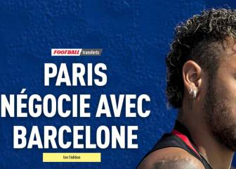 PSG have deal with Neymar, out to negotiate with Barça - L'Equipe