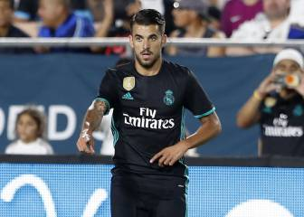Ceballos leaves stadium with a limp from left knee injury