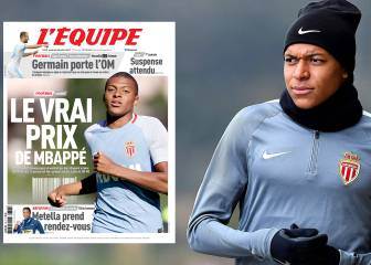 Monaco put price on Mbappé