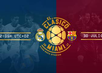 Real Madrid - Barcelona en directo online: International Champions Cup