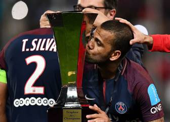 Alves equals Dalglish and Giggs as player with most titles