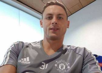 Photo of Nemanja Matic in a Manchester United shirt leaked