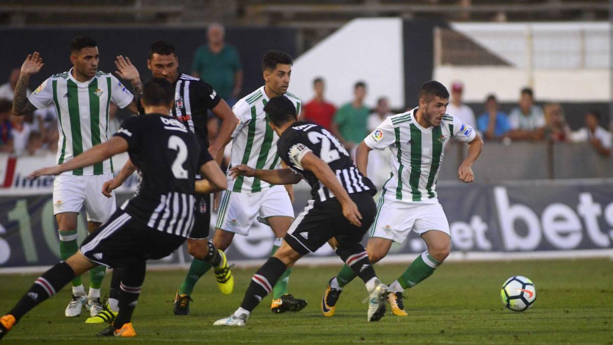 Betis 1-1 Besiktas, partido de pretemporada.