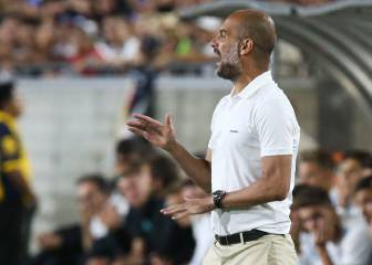Guardiola opens transfer door to three City players