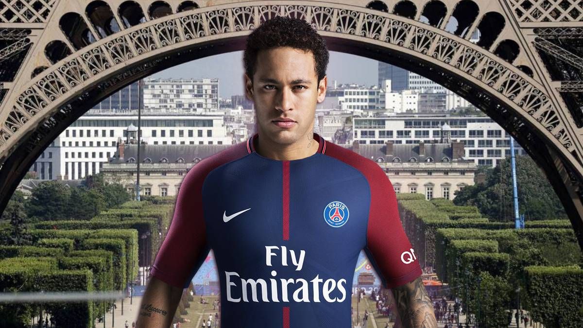 PSG plan to unveil Neymar before the weekend