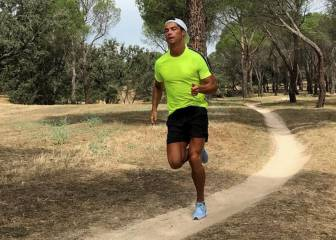 Cristiano Ronaldo trains alone, away from Valdebebas