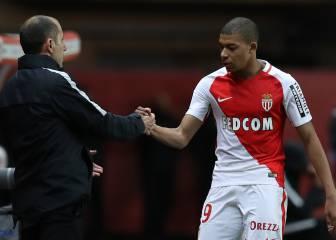 El entrenador del Mónaco se resigna a perder a Mbappé