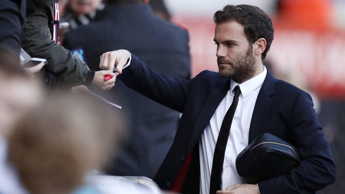 Juan Mata donará el 1% de su salario.