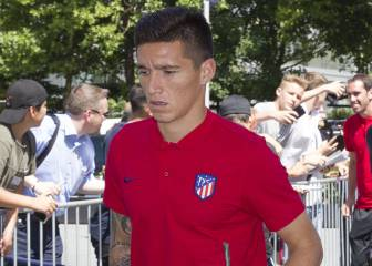Kranevitter and Santos Borré both binned by Diego Simeone