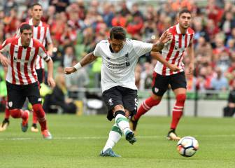 Demasiado Liverpool para el Athletic suplente en Dublín