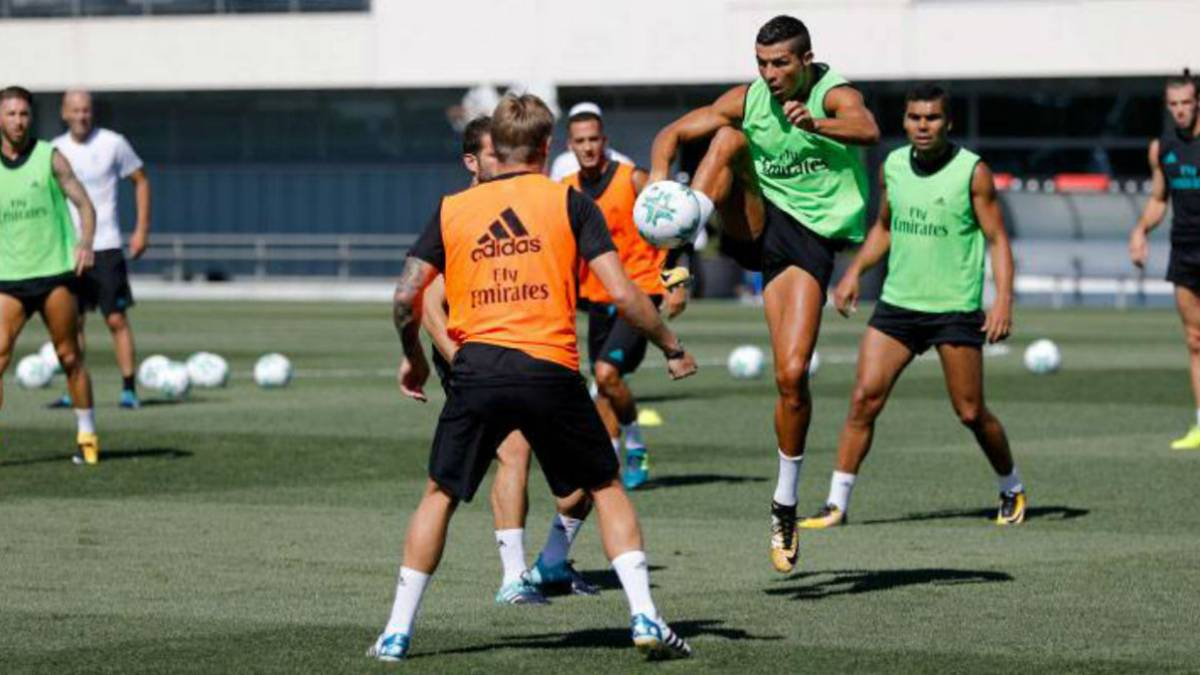 Cristiano Ronaldo trains again but not expected to travel to Skopje