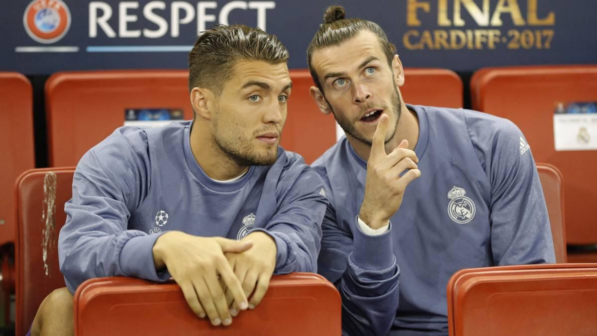 Kovacic y Bale en el banquillo