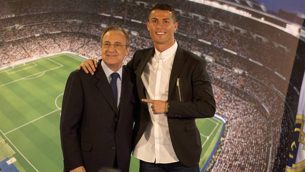 "Florentino Pérez: ""Sell Cristiano? Not for his weight in gold"""