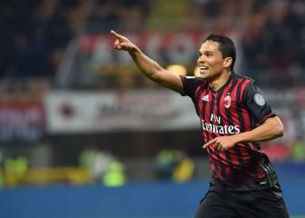 Bacca inches closer to Sevilla return