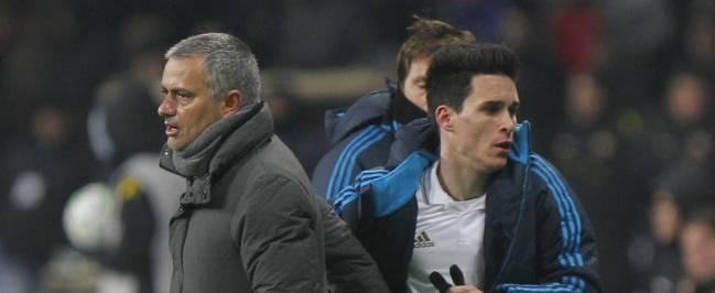Mourinho y Callejón.