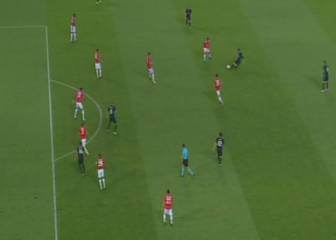 United's offside appeal for Casemiro's goal waved away