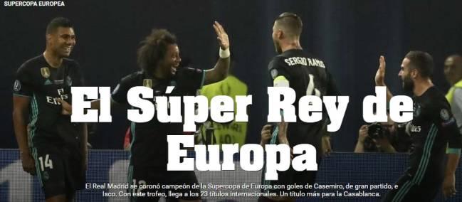 El Super Rey de Europa.