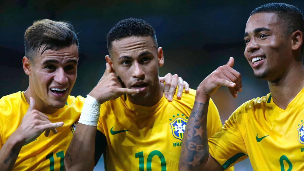 Resultado de imagen para seleccion brasileña