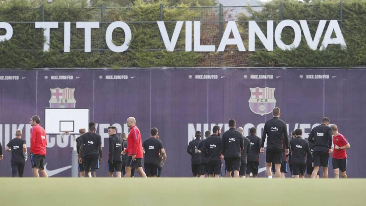 Iniesta no se entrenó; André Gomes, listo para el Madrid