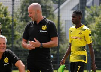 Dembélé skips Dortmund training as transfer talk hots up