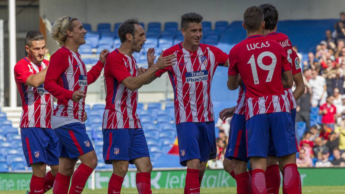 Partido En Vivo Atletico Madrid Vs Getafe Amistoso