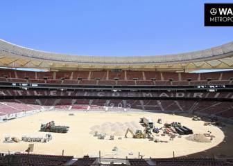 Atlético's Wanda Metropolitano nearing completion