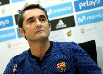 Valverde says Barça can cope without Neymar