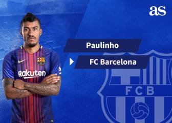 Paulinho signs for FC Barcelona