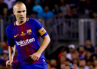 More Barça problems as Iniesta ruled out of Madrid return