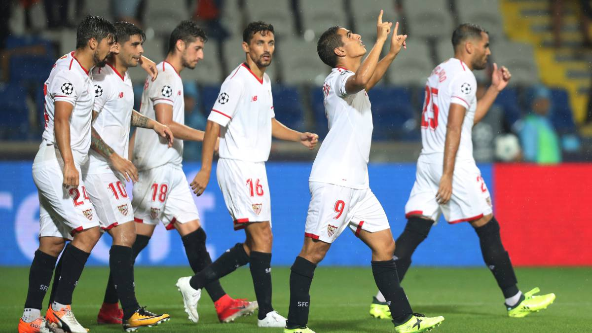 Champions League  Navas sigue siendo el ángel de la guarda del Sevilla - AS.com