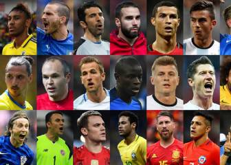 Siete del Madrid entre los 24 finalistas al FIFA The Best