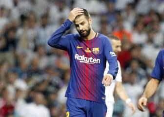 First time I've felt Real are better than Barça, says Piqué