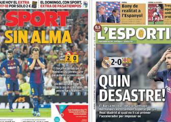 Catalan press: Barça with no soul, devoured and rotting