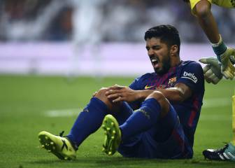 More problems for Barça: Luis Suárez ruled out with knee injury