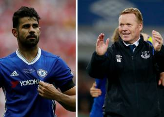 Koeman opens door to Diego Costa joining Everton