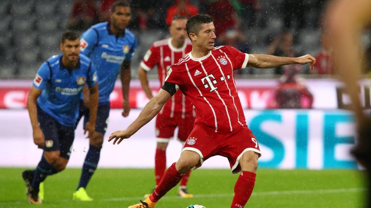 El Bayern, primer líder de la Bundesliga 2017/2018