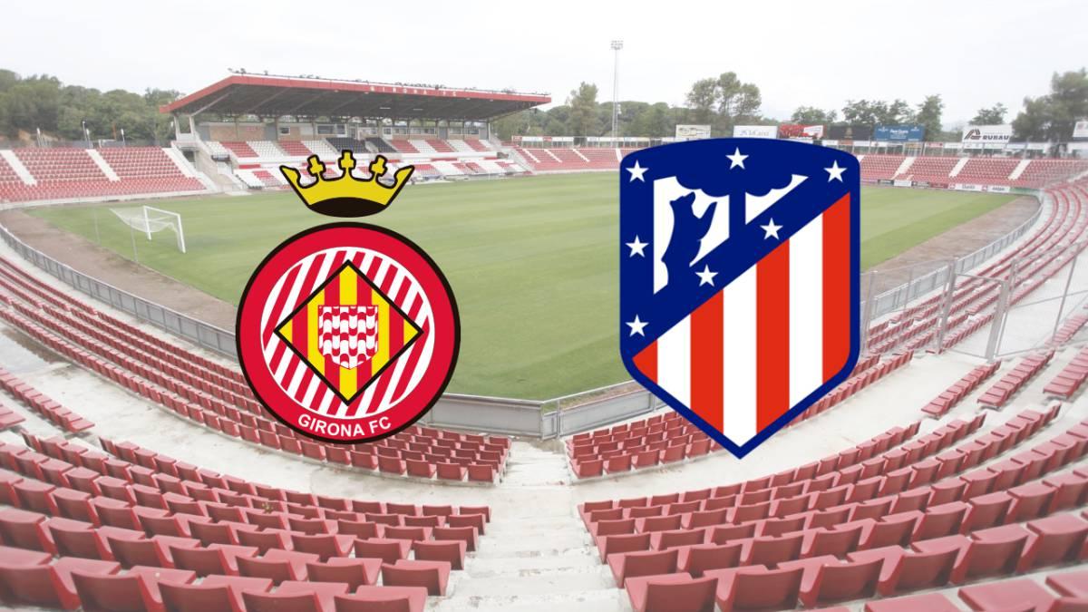 Cómo y dónde ver el Girona-Atlético de la 1ª jornada de LaLiga Santander.