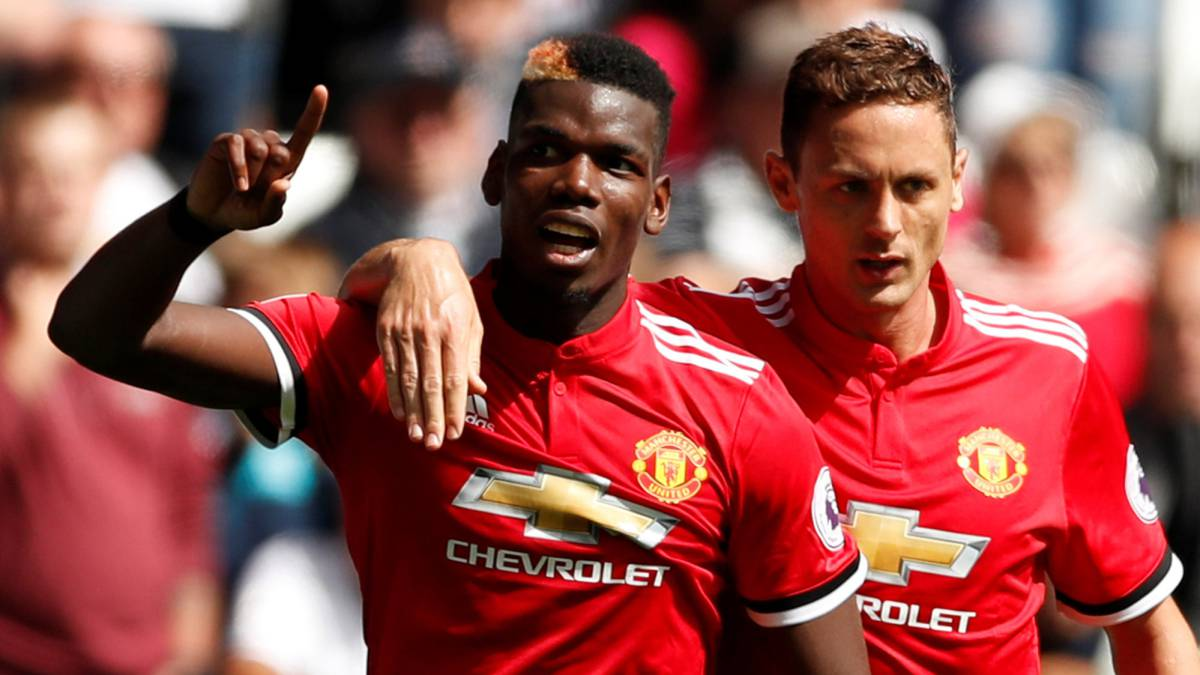 Pogba y Matic.